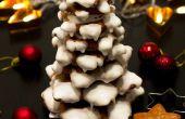 3D Lebkuchen Cookie Weihnachtsbaum