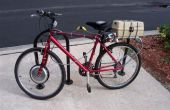 Elektro-Fahrrad (Ebike) Conversion Kit Montage - Hub Motor, Regler und Akku-Pack-Installation