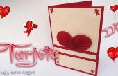 DIY / Valentine Karte - Craft