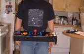 Pac-Man Arcade-Maschine Kostüm