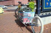 Einzelne Rad Fahrrad-Anhänger