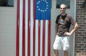 Wie erstelle ich eine amerikanische Flagge