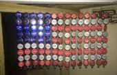 Amerikanische Flagge Cap Flasche