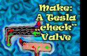 """Fabrikat: Tesla """"check"""" Ventil Mod. aus Schaumstoff Ton!"""