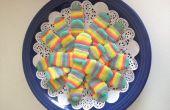 Regenbogen Katze Zunge Cookies