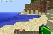 Wie erstelle ich eine schwimmende Insel in Minecraft