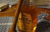 Honig-Wagen auf einer Drehbank Holz