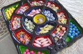 Wie erstelle ich eine Organisation von Perlen Tablett/Speise