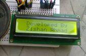 Warnung des inländischen Wertpapieres oder einen Bewegungsmelder mit Arduino,P.I.R Sensor und LCD.