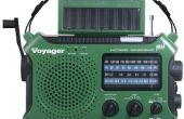 Akku Power Kurbel Radio Prepper mod Kurzwelle Notfall Handy-Ladegerät Akku solar Eton Kaito Grundig noaa Wetter