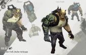Portable PC Projekt inspiriert von Shadowrun Cyberdeck