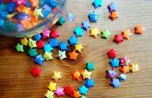 Origami Sterne wünschen (aka. Lucky Stars)