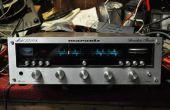 Bringt neues Leben in einen alten klassischen Marantz-Stereo-Receiver mit einer Klasse D Amp Board.