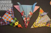 Cartoon-inspirierten Origami Flugzeuge
