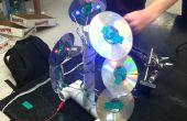 Künstlerische USB LED CD Lampe