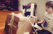 flugzeug bauen aus pappe