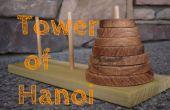 Machen Sie eine Turm von Hanoi-Puzzle Spiel