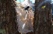 Halloween Spinnennetz böse
