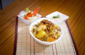 Wie erstelle ich Chicken Biryani (Rezept)