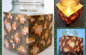Einfach Minecraft Leuchtstein Bienenwachs Kerze