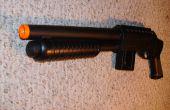 Machen eine realistische Schrotflinte aus Airsoft Pistole prop