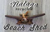 Vintage recycelt Strand Schuppen