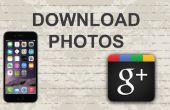 Wie man Fotos von Google Plus auf Mobile App herunterladen