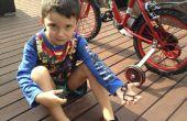 Befestigung mit Sugru ein Fahrrad Licht montieren