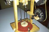 Aufbau einer Low-Cost Stirlingmotor zur Stromerzeugung