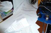 Was mit zu tun übrig Papier