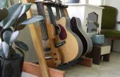 Gitarrenständer Holz