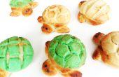 Schildkröte-Brot: Tortuga Conchas