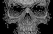 Gruselige Halloween Skull Dekoration
