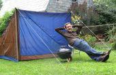 Die nahen perfekte Zelt: Entwerfen und bauen ein Recycling-Zelt