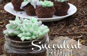 Essbare saftigen Terrarium Cupcakes!