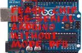 Flash-Chip USB-seriell Arduino ohne DFU