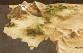 Fantasy-Karte (auch wenn Sie nicht zeichnen können)