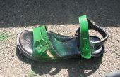 Erneuern Sie Ihre alten Schuhe