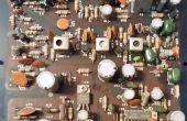 Wie die Komponenten von alten oder defekten Elektronik ohne einen Lötkolben wiederherstellen!