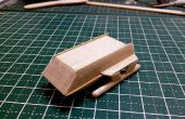 Mini Star Trek Galileo Shuttle Popsicle Stick Modell