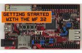 Erste Schritte mit der WF32!