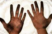 Gewusst wie: schmutzige Hände waschen?