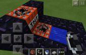 Minecraft Pocket Edition TNT Kanone