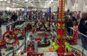 Große gemeinsame Lego Displays