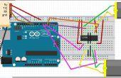 Bluetooth Roboter mithilfe von Arduino gesteuert