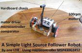 Einfachste Lichtquelle Anhänger Roboter