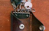 Wie man weniger Zeug - DIY Tasche Geldbörse und Schlüsselhalter tragen