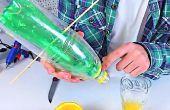 Wie erstelle ich einen Saft SAFTPRESSE aus PET-Flaschen | DIY | TUTORIAL