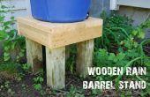 Hölzerne regen Barrel Stand