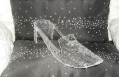 Wie erstelle ich ein Prop 'Glas' Cinderella Slipper (aus ein Brezel Wanne?)